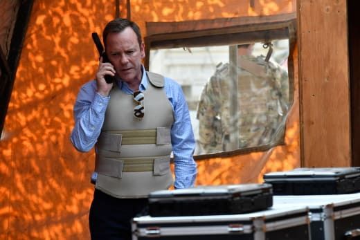 Kirkman in Afghanistan - Designated Survivor Season 2 Episode 8