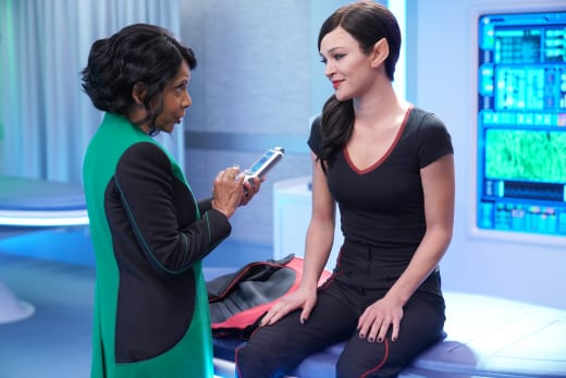 Talla's Check Up - The Orville Season 2 Episode 6