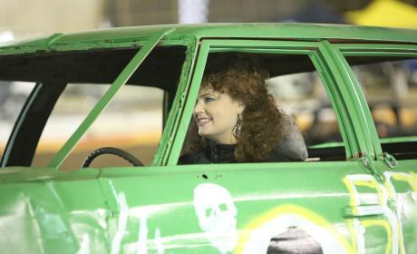 Brennan Smiles Behind the Wheel - Bones Season 12 Episode 9