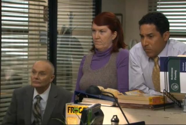 the office online dating episode The office is an american television comedy series that originally aired on the national broadcasting company from march 24, 2005 to may 16, 2013 it is an adaptation of the bbc series of the same name.