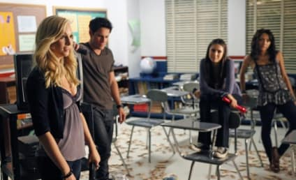 The Vampire Diaries Photo Preview: Senior Prank Night!
