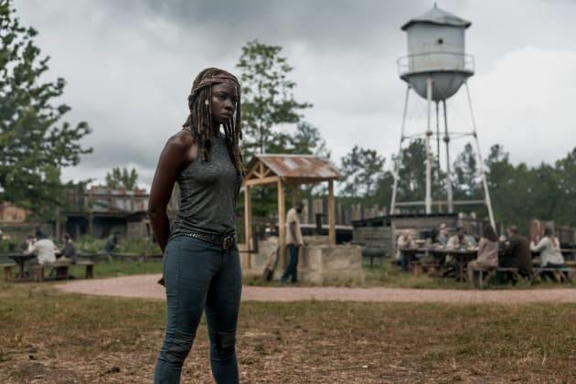 Deep In Thought - The Walking Dead Season 9 Episode 2