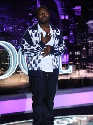 Romeo Diahn on American Idol