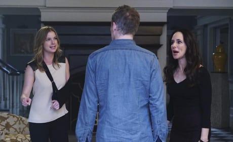 Caught Between Two Women - Revenge Season 4 Episode 11