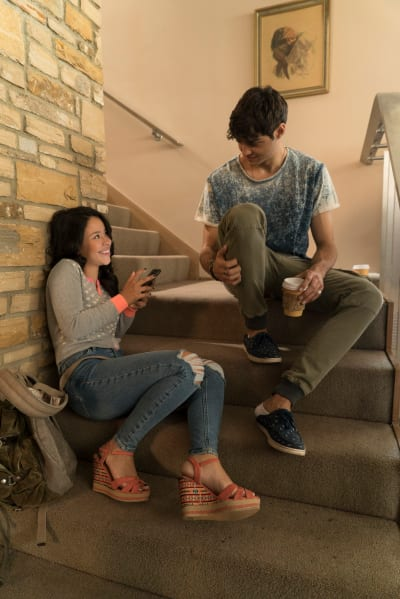 Twin Bonding - The Fosters Season 5 Episode 13