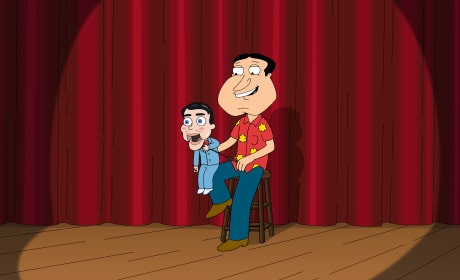 Ventriloquist Quagmire - Family Guy Season 16 Episode 19