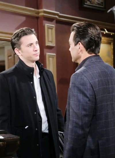 Chad Confronts Stefan - Days of Our Lives