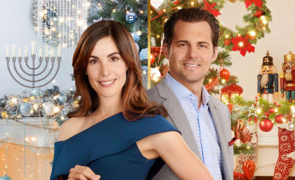 Carly Pope and Kristoffer Polaha Talk Double Holiday, Representation, and Feel-Good Entertainment