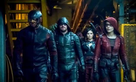 One Last Speedy Adventure - Arrow Season 6 Episode 16