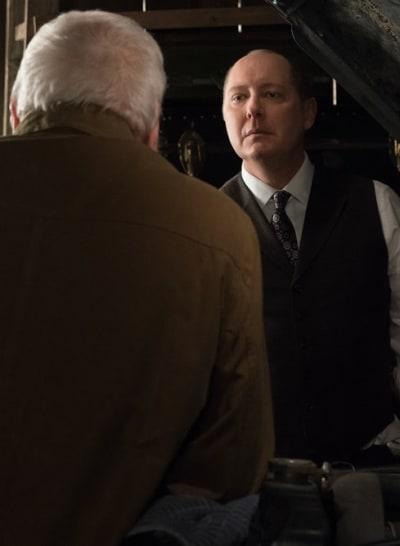 Red Fixes a Car - The Blacklist Season 6 Episode 19
