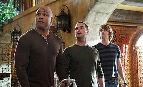 Deeks, Callen and Sam