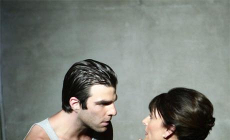 Sylar and Angela