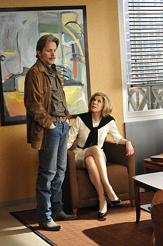 Gary Cole on The Good Wife
