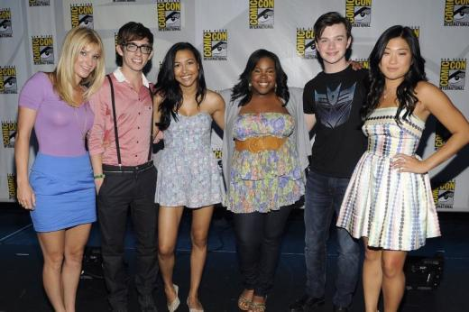 Glee at Comic-Con