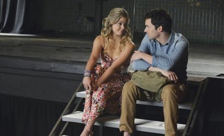 Ali and Ezra Look Chummy