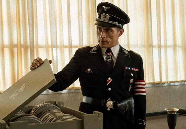 John Finds a Box of Films - The Man in the High Castle