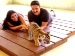 The Shahs Play with Tiger Cubs - Shahs of Sunset