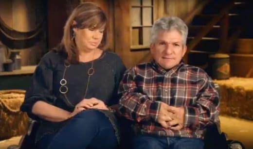 Caryn and Matt Confessional - Little People, Big World