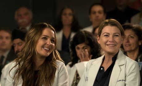 MerJo Nervous Laughter - Grey's Anatomy Season 14 Episode 20