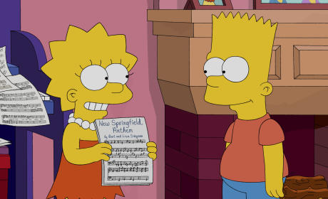 The Town Anthem - The Simpsons