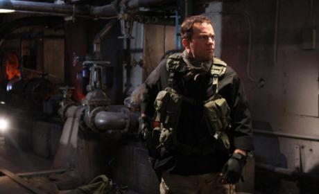 Casey in Uniform