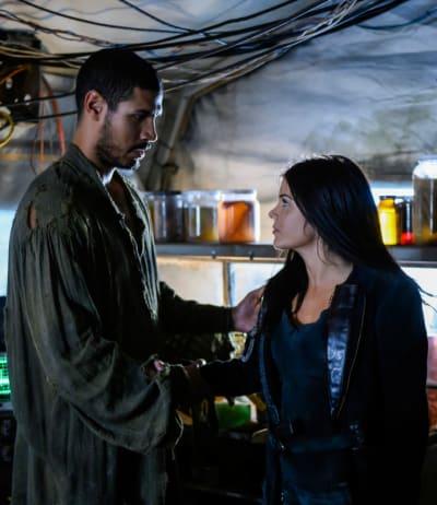 Gabriel and Octavia  - The 100 Season 6 Episode 9