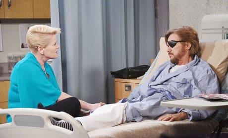 Adrienne Visits Steve - Days of Our Lives