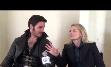 Colin O'Donoghue and Jennifer Morrison Set Interview