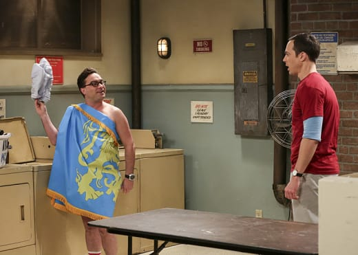 Divvying Up - The Big Bang Theory