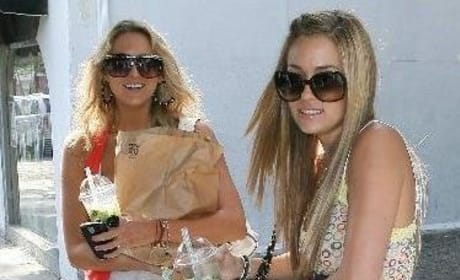 Lauren Conrad and Stephanie Pratt