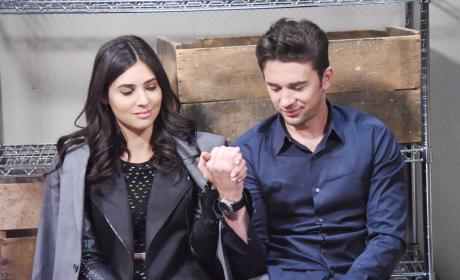 Gabi and Chad Held Hostage - Days of Our Lives