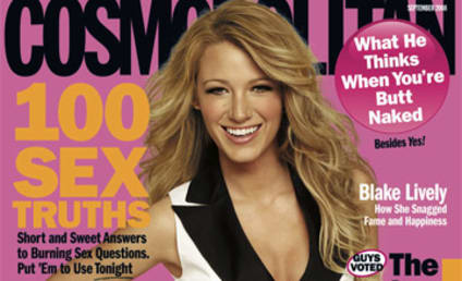 Blake Lively Has Only Kissed Three Guys Lifetime, and Other Revelations From Cosmopolitan