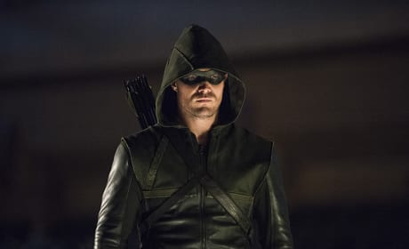 Stoic as Always - Arrow Season 3 Episode 1