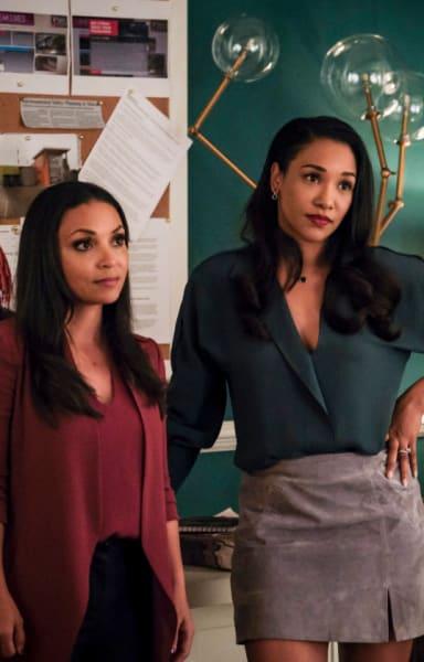Cecile And Iris Listen.  - The Flash Season 5 Episode 20