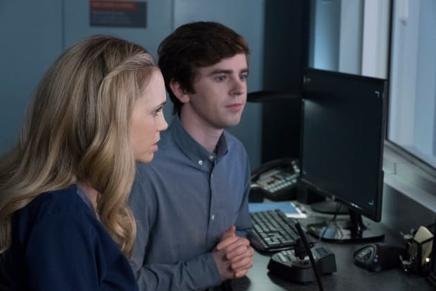 Dr. Reznick and Shaun - The Good Doctor Season 1 Episode 15