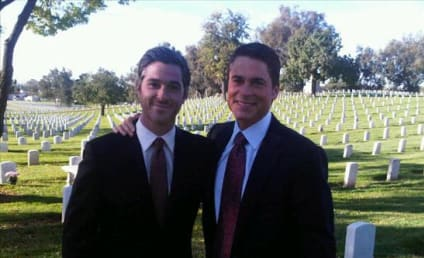 Brothers & Sisters Spoiler Alert: Robert in the Cemetery