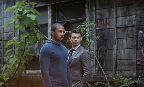 Marcel and Elijah - The Originals