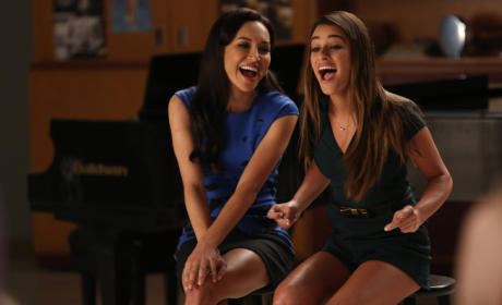 Rachel with Santana