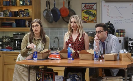 The Looks on Those Faces... - The Big Bang Theory Season 10 Episode 9