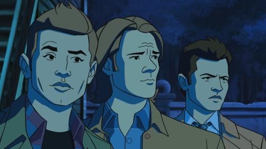 Thoughtful Looks - Supernatural Season 13 Episode 16
