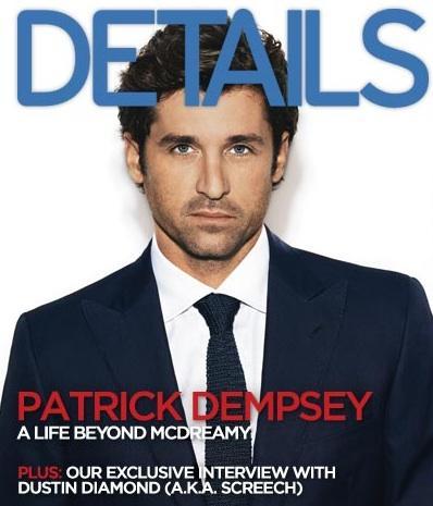 Patrick Dempsey: Details Cover