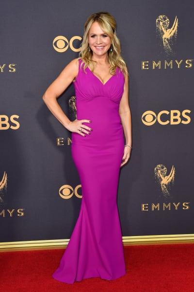 Barbara Alyn Woods Attends Primetime Emmy Awards