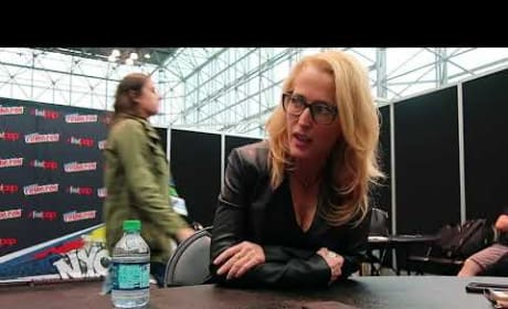 The X-Files: Gillian Anderson on Maturing, Eye-Rolls, & Humor Since Episode 1