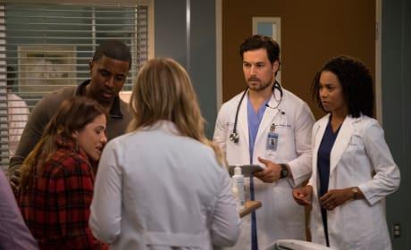 Arizona and Maluca on the Case - Grey's Anatomy Season 14 Episode 22