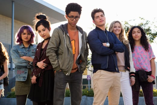 The Runaways Group Pic - Marvel's Runaways