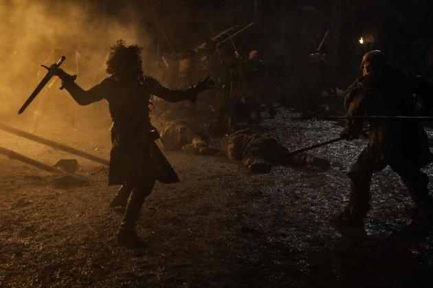 Battle Over Castle Black
