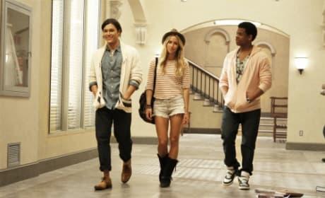 Oscar, Ivy and Dixon