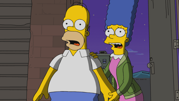 Homer and Marge Are Shocked - The Simpsons