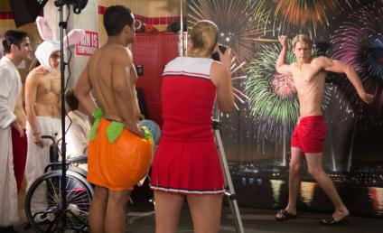 Glee Gets Naked: New Episode Stills!