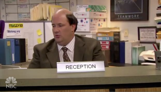 Kevin The Receptionist Tv Fanatic